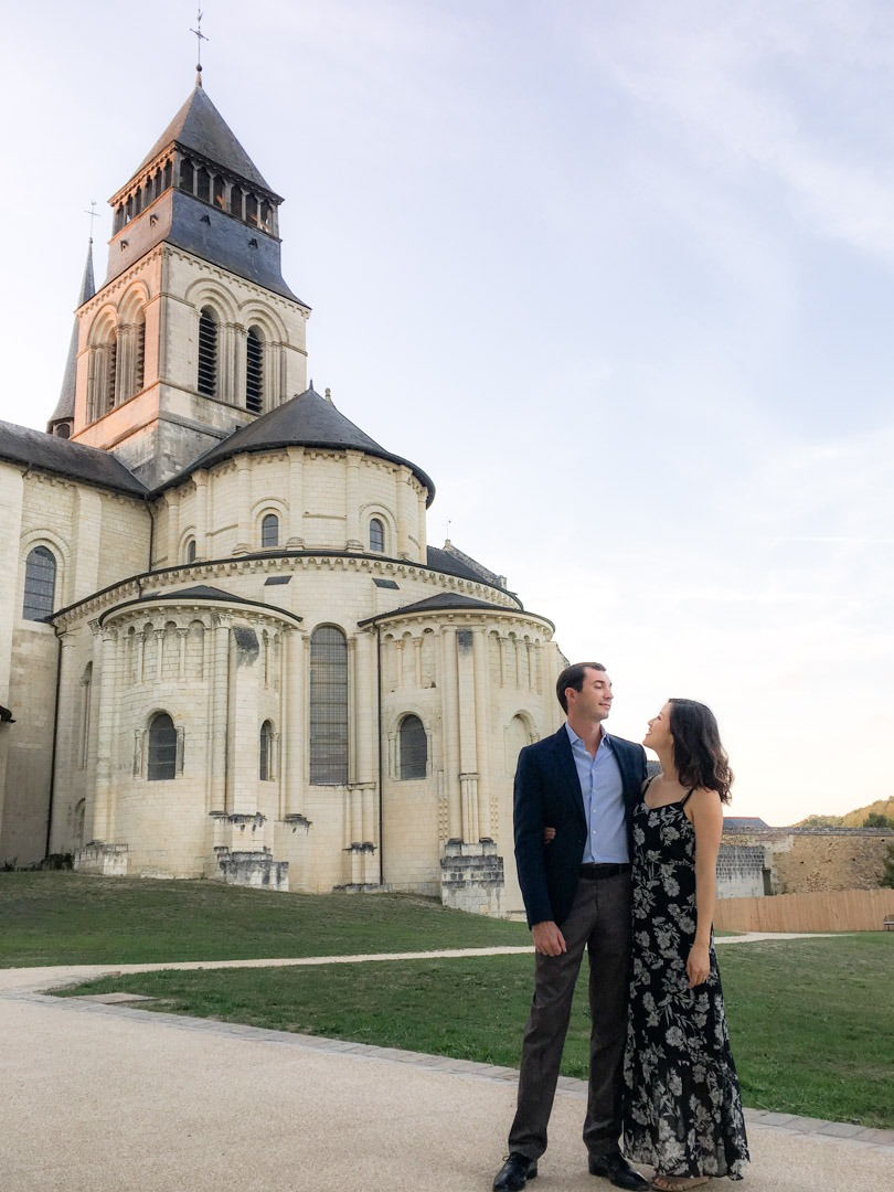 one year anniversary at fontevraud