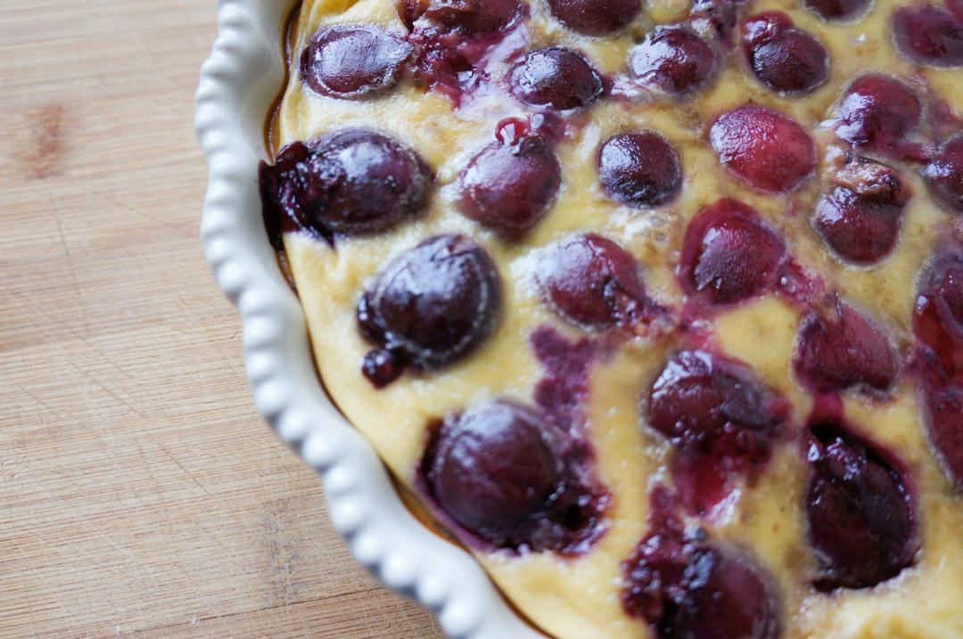 cherry clafoutis recipe