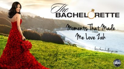 Zak W's Best Bachelorette Moments
