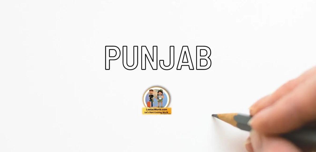 Rules & regulation for entering Punjab
