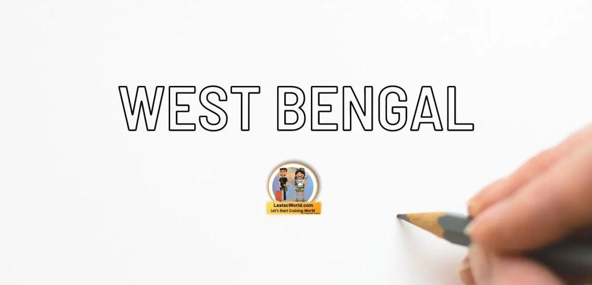 Rules & regulation for entering West Bengal