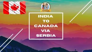 Read more about the article Fly from India to Toronto via Belgrade