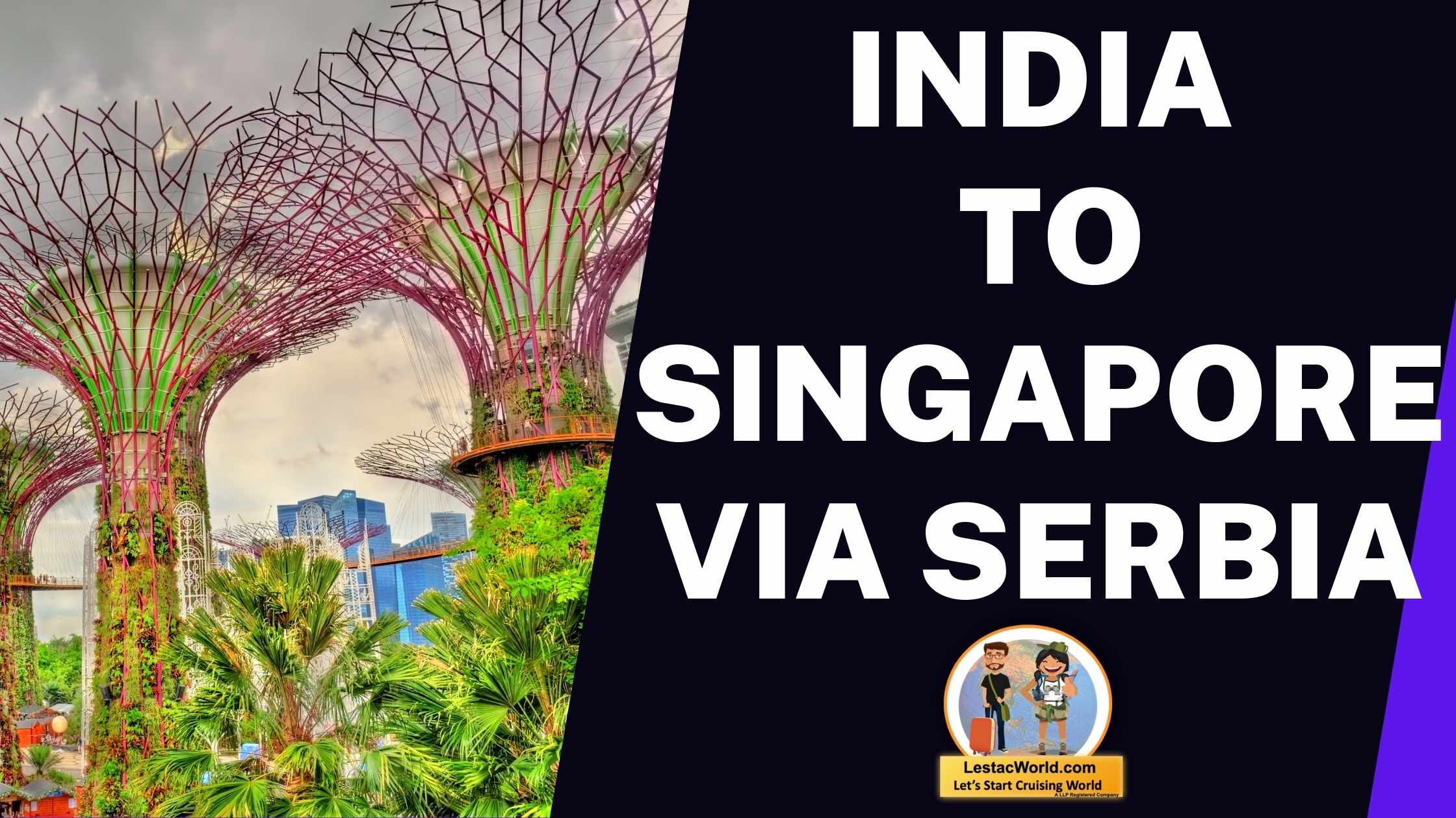 Read more about the article India to Singapore via Serbia!
