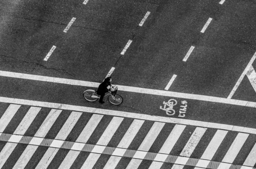 Photo of bicycle on the street