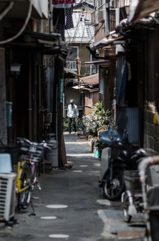 Photo of Japanese alley