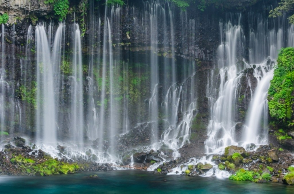 Threads of Shiraito Falls