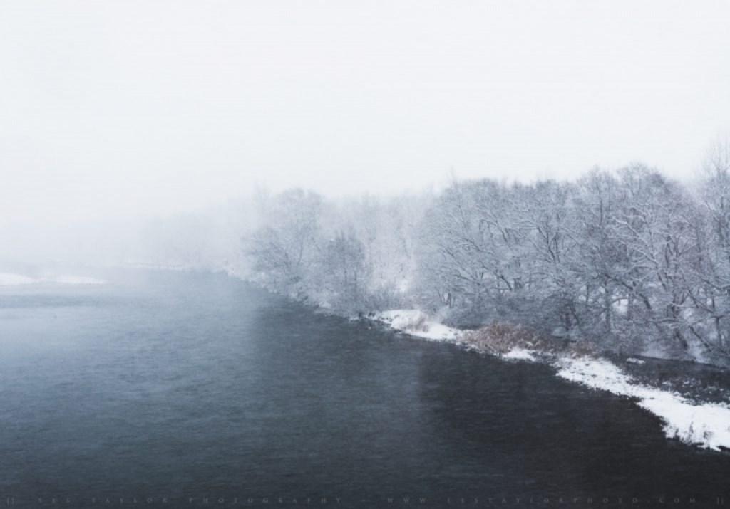 Snow River Akita Japan