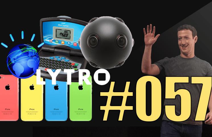 #57: IPhone 6C, Mark Zuckerberg papa, Watson, Koguma, Lytro Desktop 5.0, InterApp, V-Tech,…