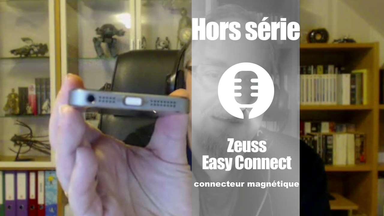 Connecteur magnétique Easy Connect de Zeuss