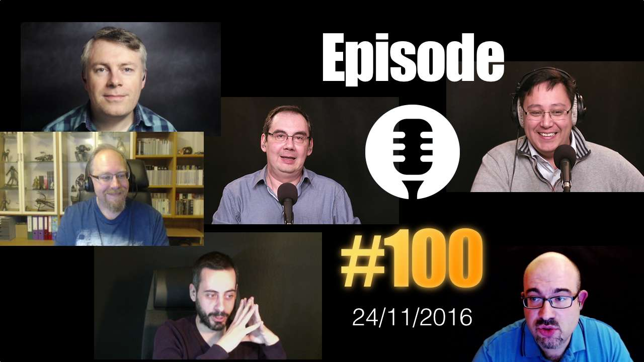 #100: Les Technos se mettent à poil !
