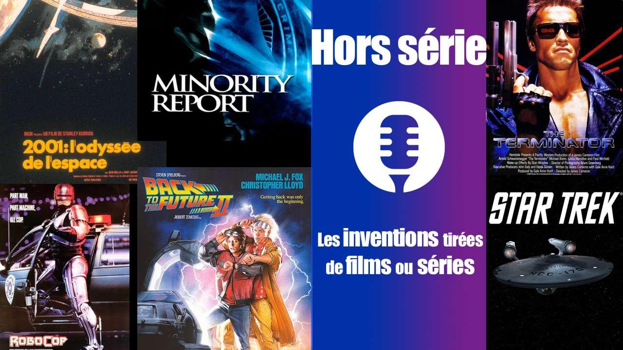 Les inventions tirées de films et séries