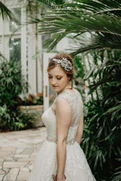 pressing robe de mariée glamour dentelle