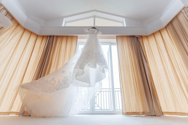 nettoyage des robes de mariée