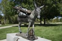 Loveland Sculpture Donkey