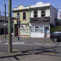 buildings, Riddiford Street, Newtown, Wellington New Zealand.