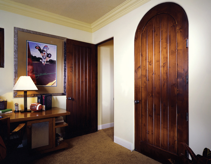Simpson V Groove Doors