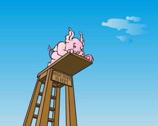 High Dive Pig