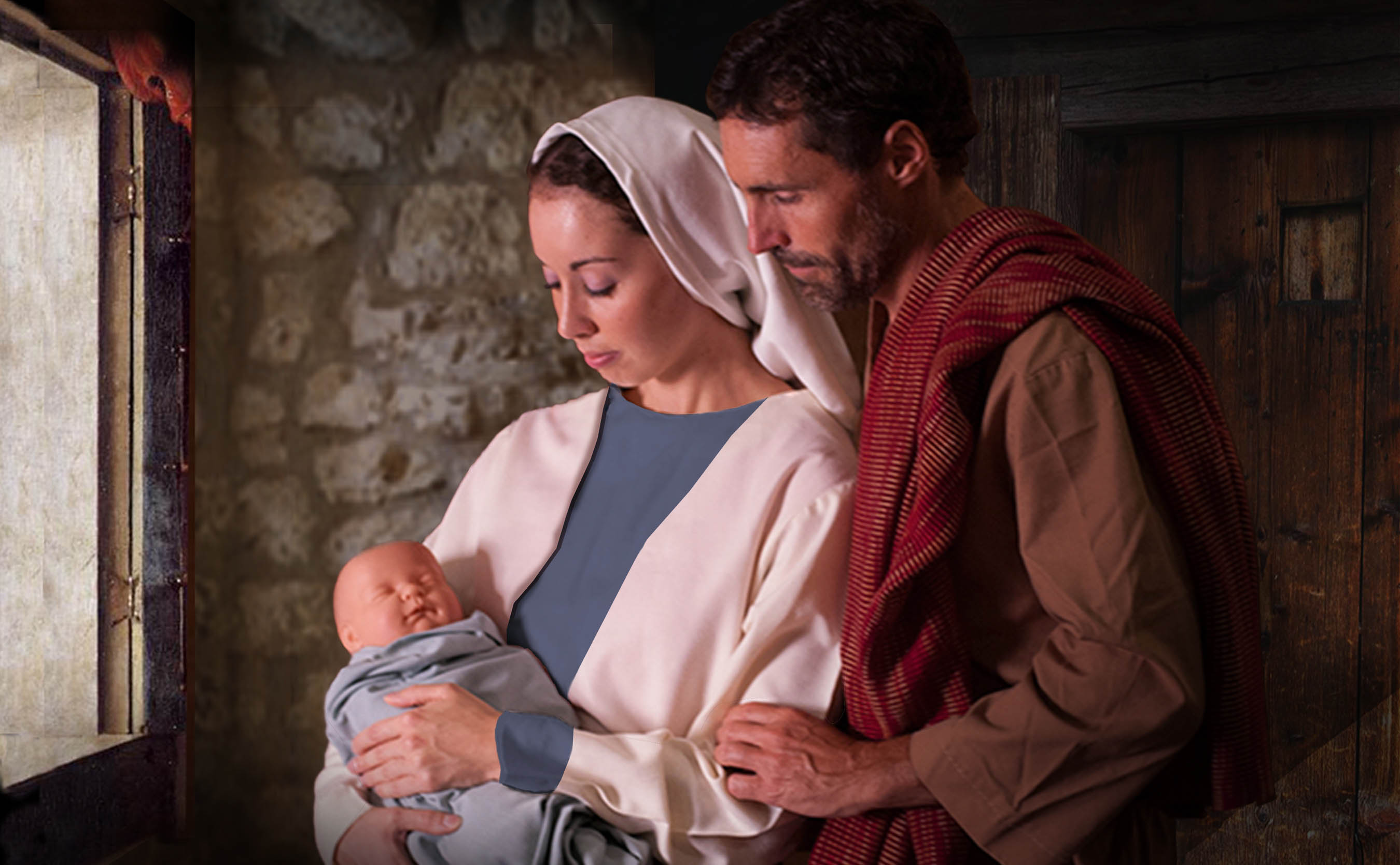 Mary, Joseph and the Baby Featured
