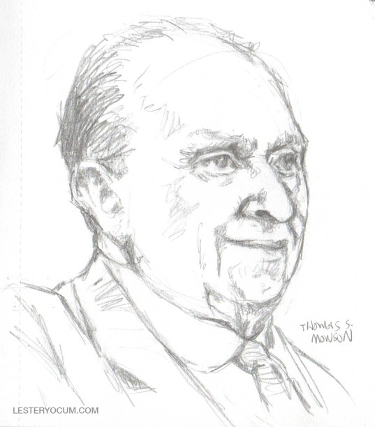 Sketch of Thomas S. Monson