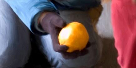 Offering an Orange