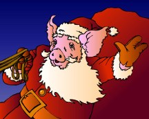 Santa Pig