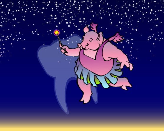 The Tooth Fairy Pig