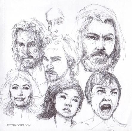Random Head Sketches