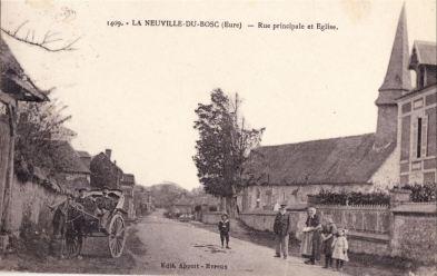 Carte postale 1890 environ