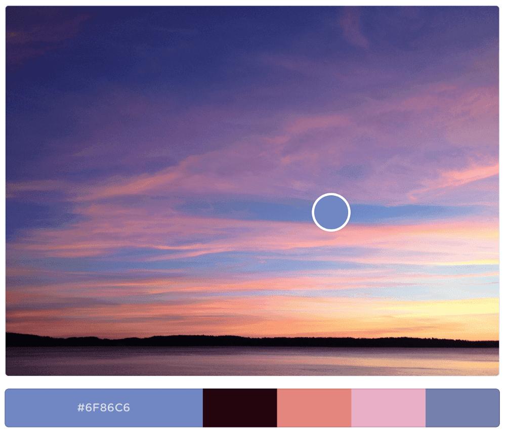 colores dominantes