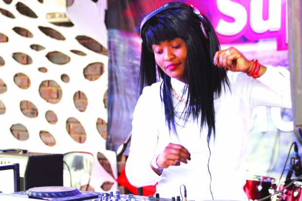 DJ Linah entertains the audiance on Saaturday during VCL super Star Finale