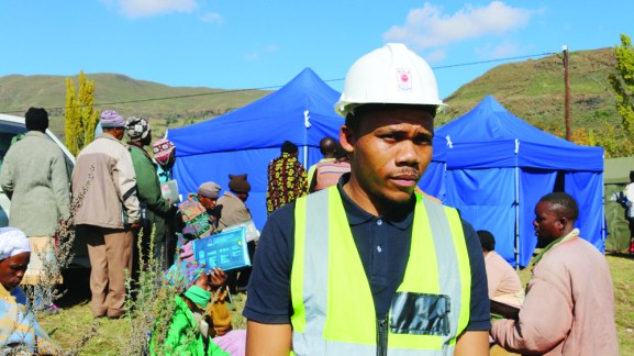 Tau Tau supports ex-miners get access to healthcare and apply for compensation