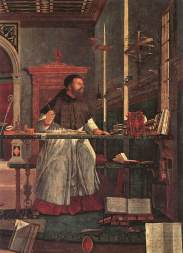 Carpaccio - Sant'Agostino nello studio