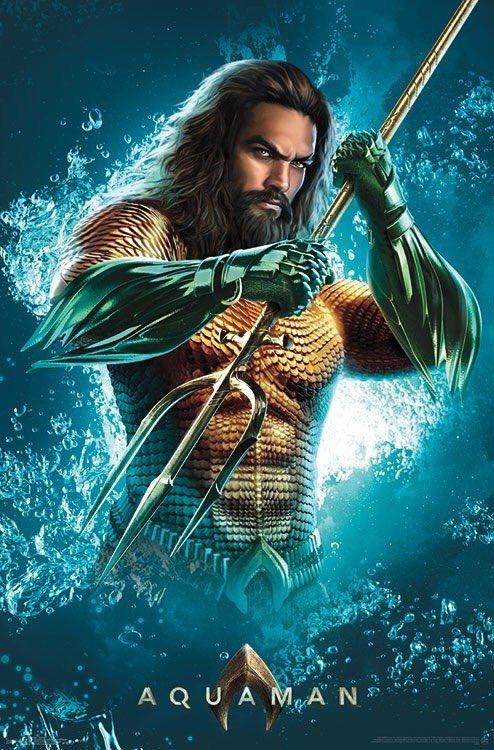 Aquaman Un Nouveau Poster La Veille De La Bande Annonce Les Toiles Hroques