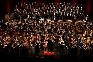 Gustav Mahler Jugendorchester et Chœur régional Provence-Alpes-Côte d'Azur et Chœur régional-Vittoria d'Île-de-France © Caroline Doutre