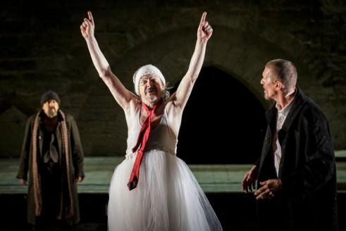 « le Roi Lear » © Christophe Raynaud de Lage / Festival d'Avignon
