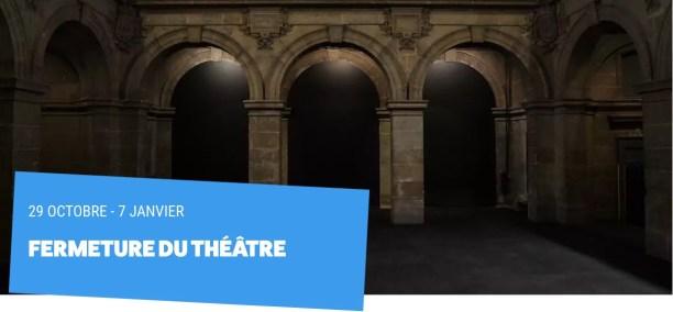 Théâtre-Paris-Vilette-Fermeture-Covid