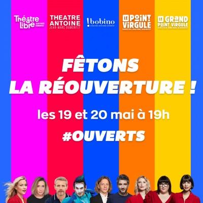 #ouverts-théâtres-privés