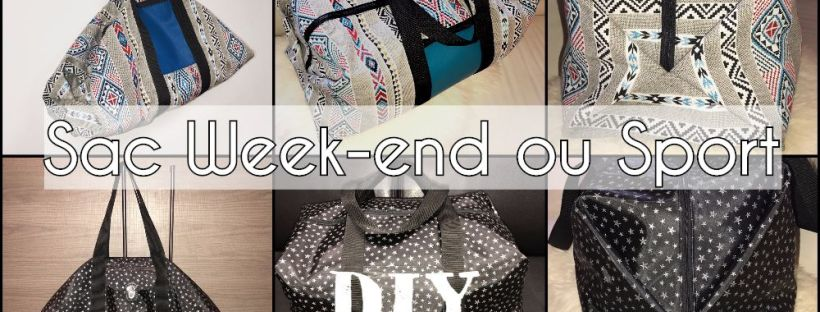 Sac Origamax Week-end ou Sport - Tuto Couture DIY ⋆ Les Tutos ... 6b87270067d