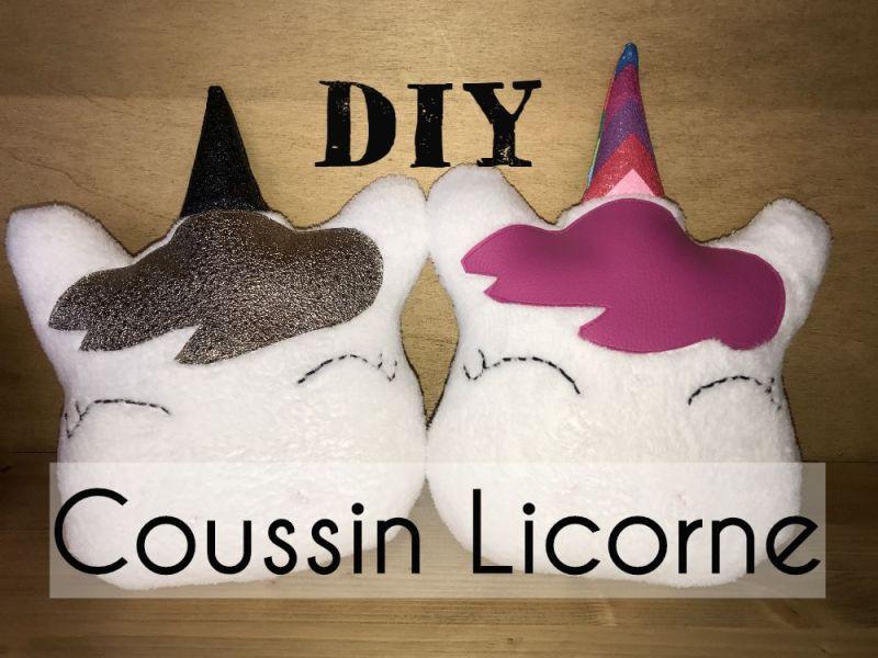 Coussin Licorne