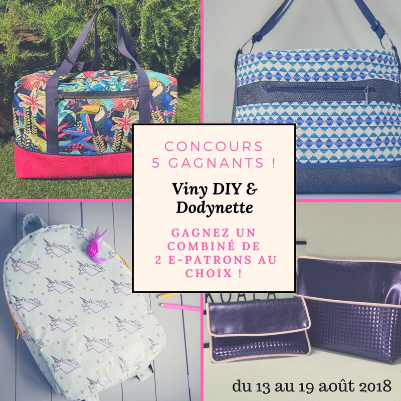 Concours Facebook et Instagram Dodynette et Viny