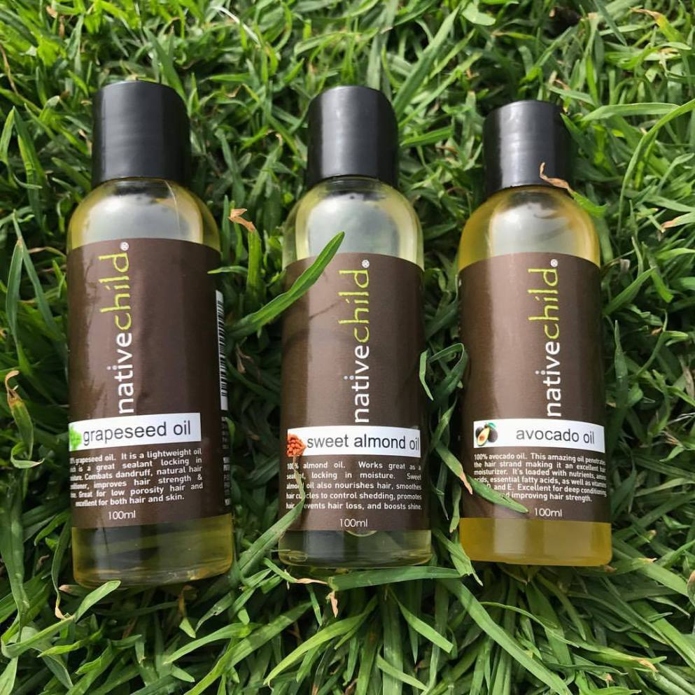 Native Child 100% plant based hair and body care