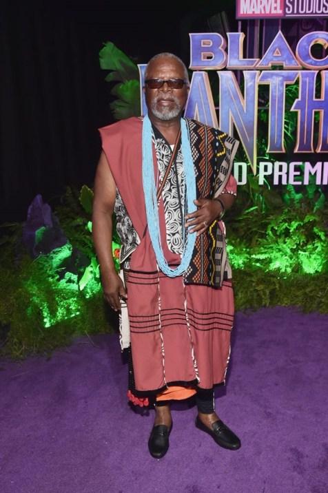 John Kani Premiere of Black Panther