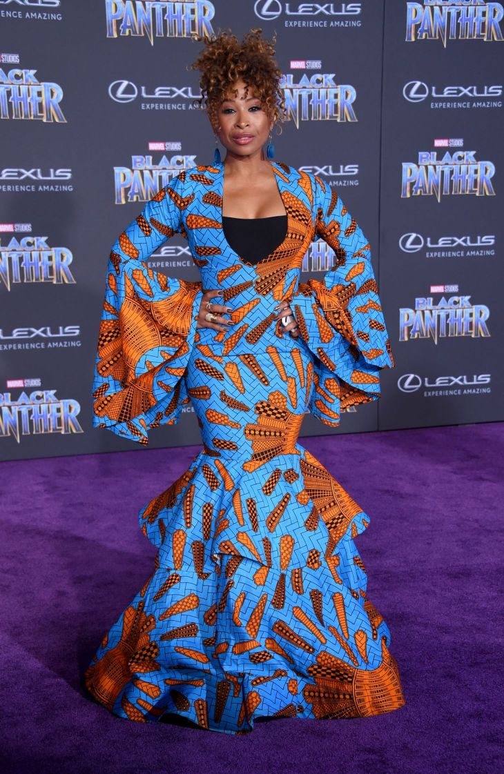 Tanika Ray Premiere of Black Panther
