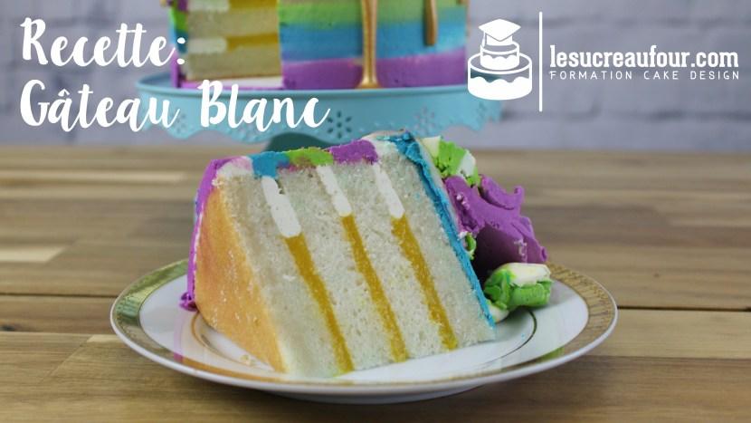 recette de gâteau blanc