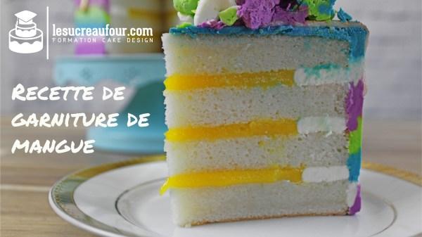 garniture de mangue cake design