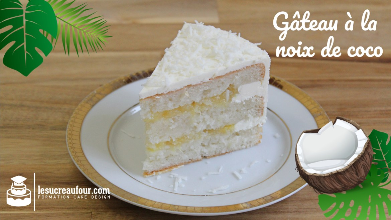 recette gâteau noix de coco