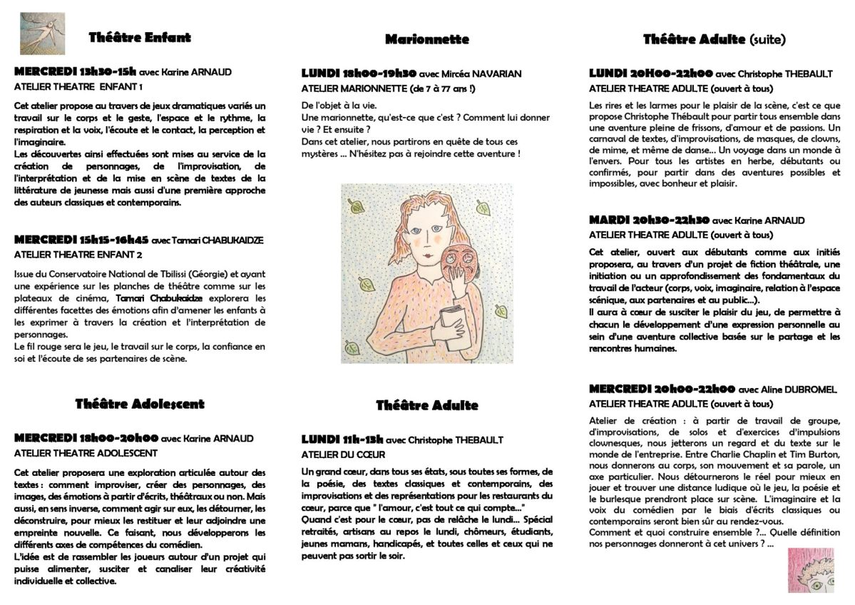 Ana Mhv Porno les ateliers 2019-2020 | cie les utopies