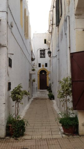 Médina de Rabat, ruelle