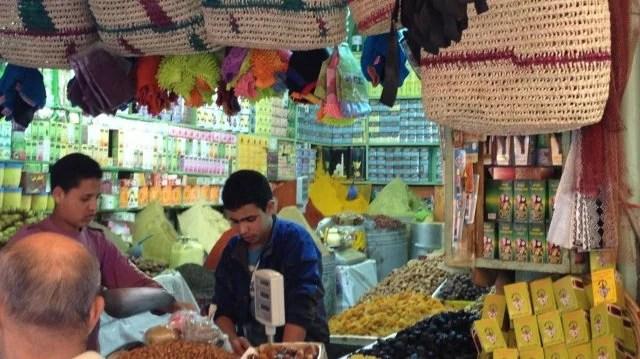 Médina de Rabat, épicerie