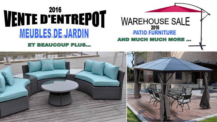 vente entrepot meubles de jardin et plus